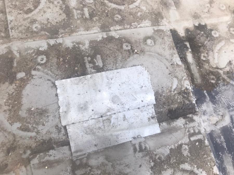 ベランダ雨漏り
