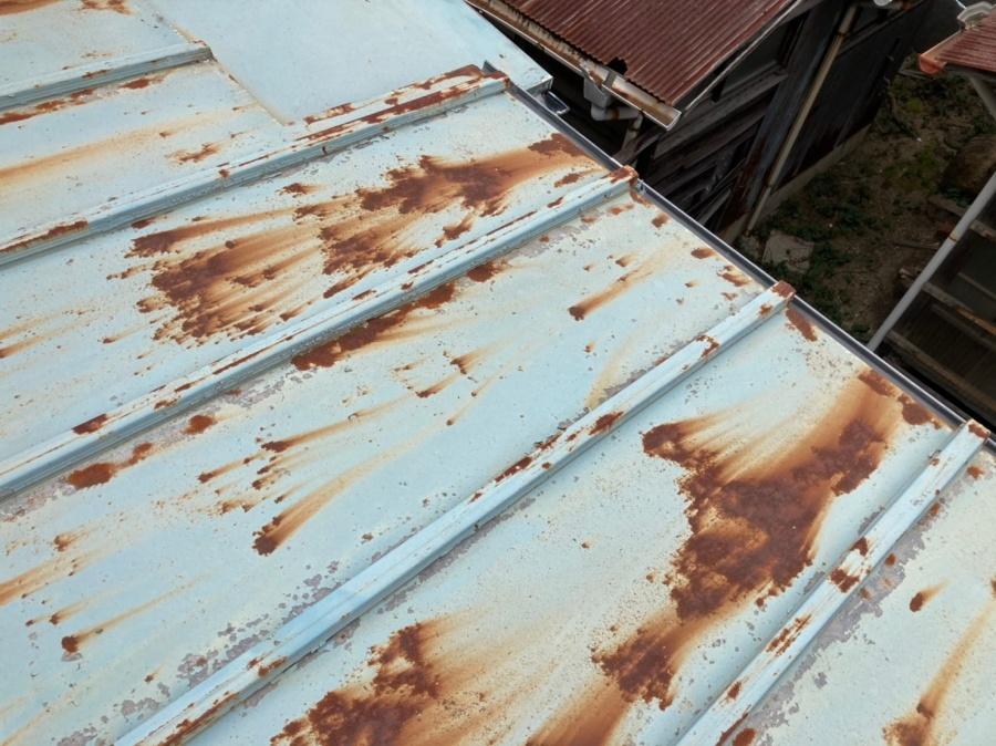 板金屋根 下屋根 2