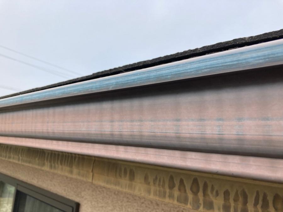 屋根点検 雨樋2