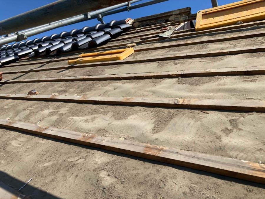 刈谷市にてS瓦から板金屋根への葺き替え工事が完了!!!