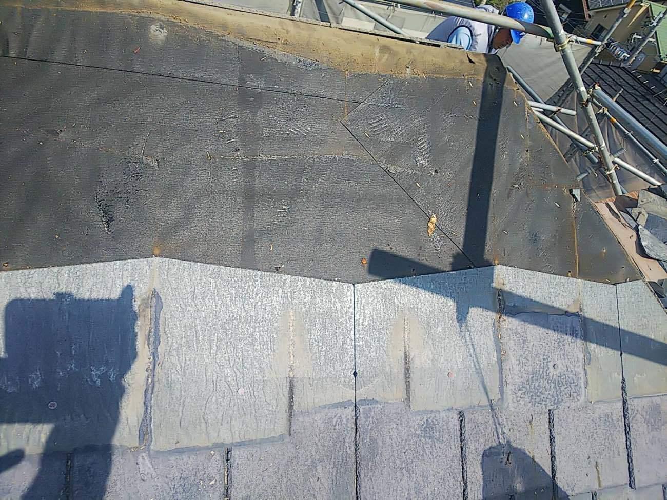 屋根材自体も劣化は進行しています