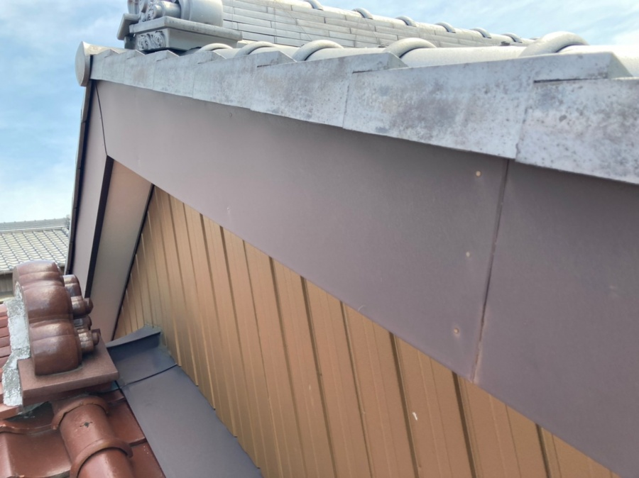 屋根点検 破風板