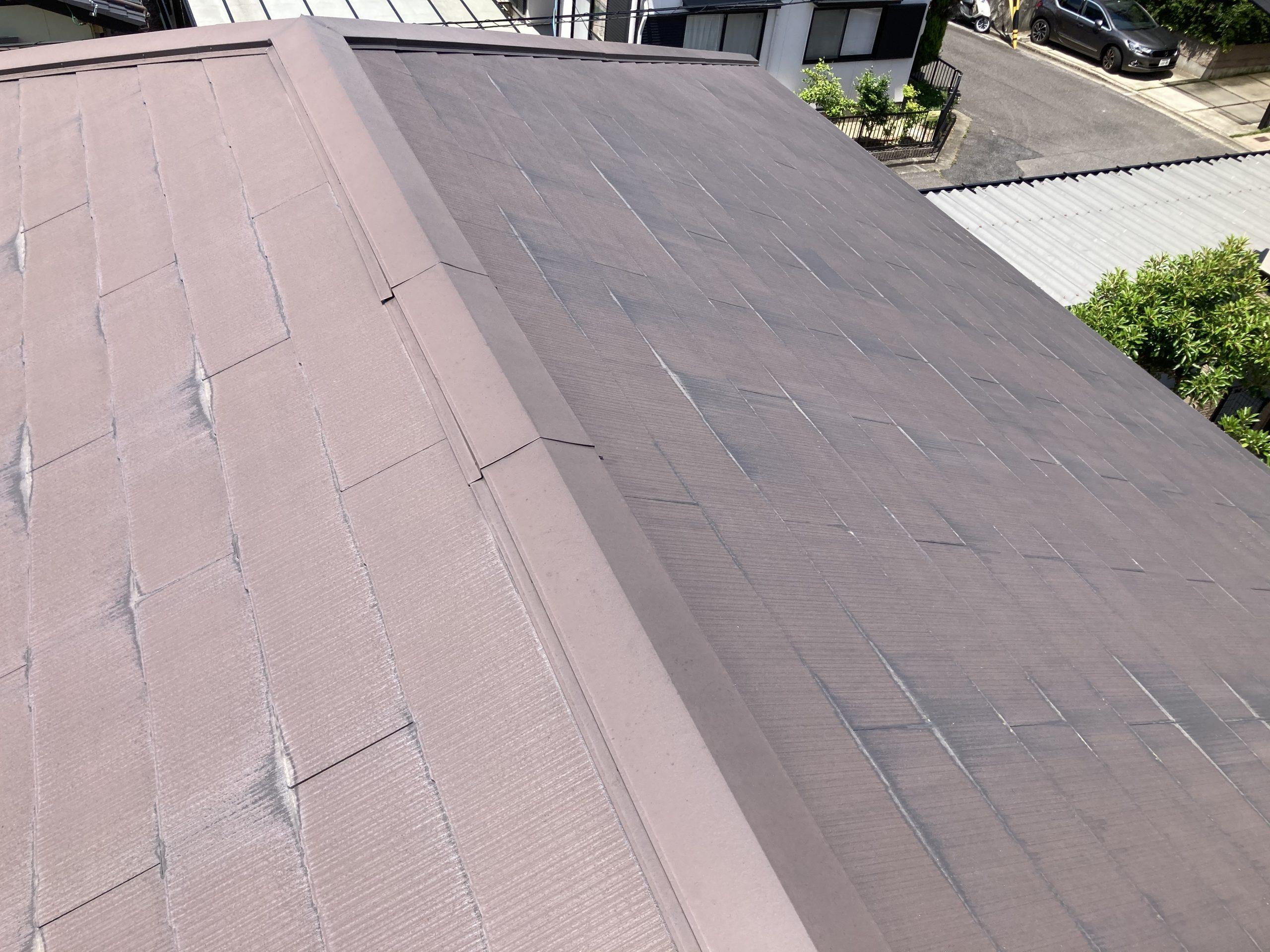 スレート屋根 全体