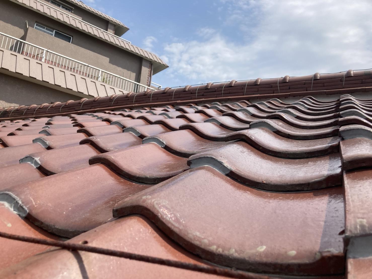 安城市にて瓦屋根と板金屋根両方の無料点検を実施!!!