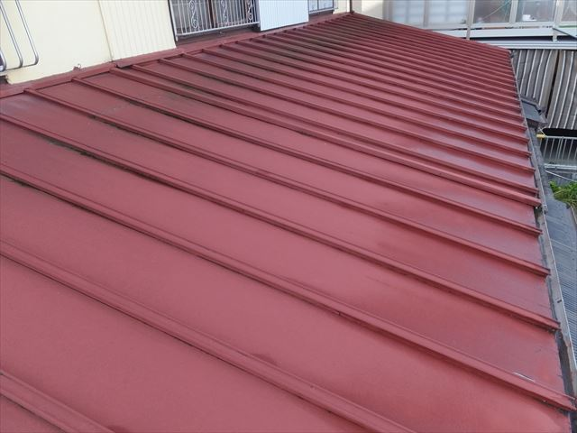 板金屋根 葺き替え工事