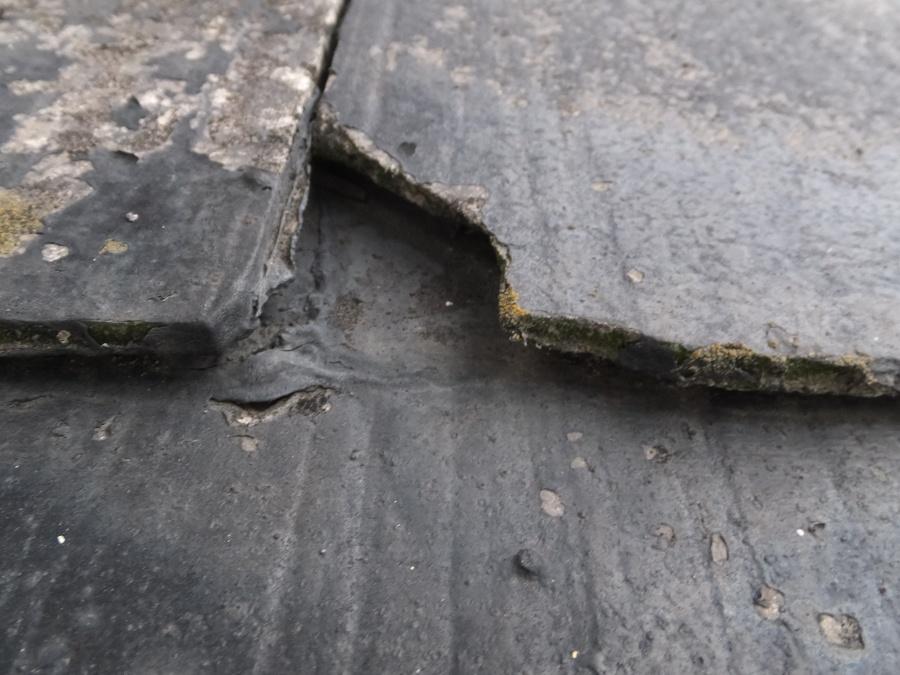 カラーベスト 屋根点検 褪色 割れ 重ね葺き カバー工法