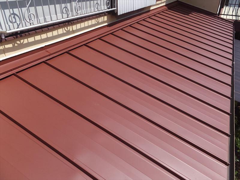 板金屋根葺き替え工事 ガルバリウム鋼板
