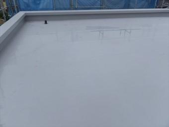 刈谷市 陸屋根防水工事 完成写真