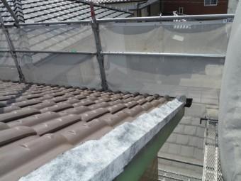 ケラバ雨漏れ修繕