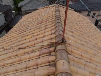 屋根点検 洋瓦