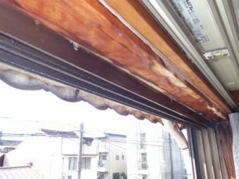瓦棒屋根雨漏れ