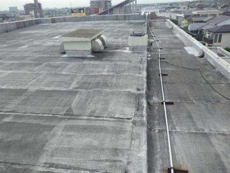 屋上防水劣化