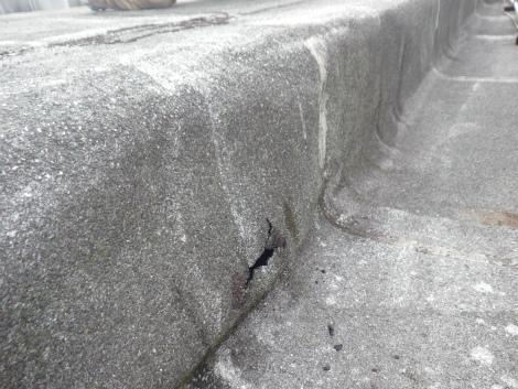 ビル屋上雨漏れ