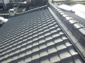 日本瓦ズレと漆喰劣化