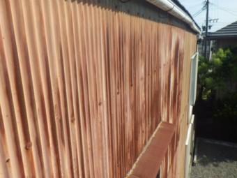 トタン壁劣化