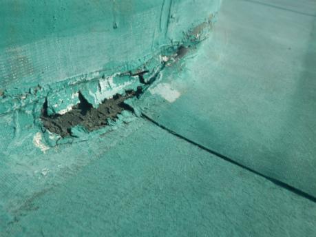 シート防水劣化