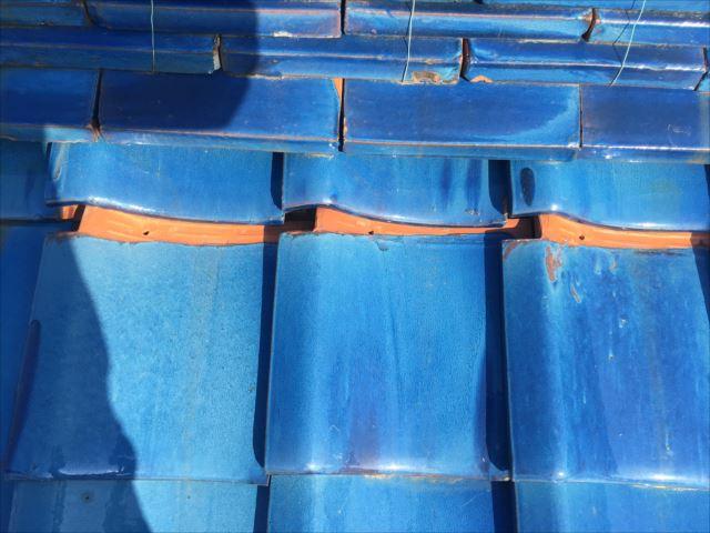屋根の点検 瓦の凍て