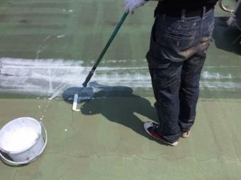 ウレタン防水施工