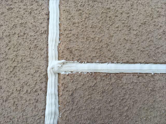外壁目地の補修