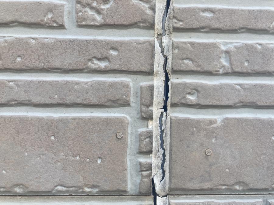 外壁点検 目地 ひび割れ