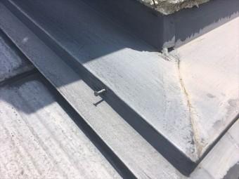 屋根点検 スレート 褪色 サビ