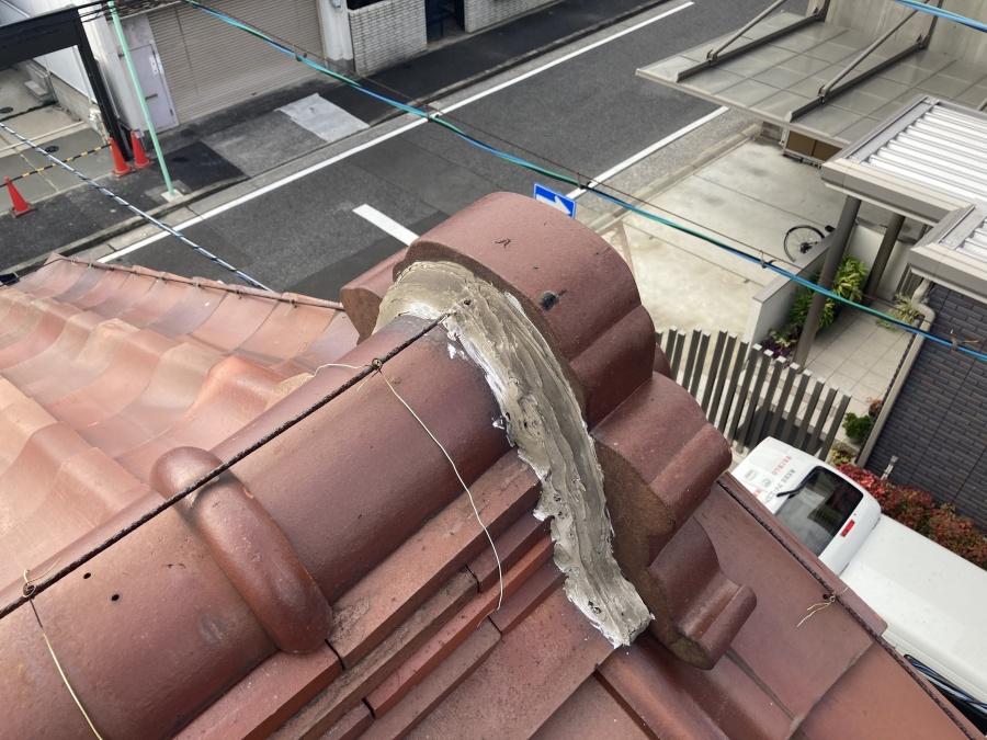 屋根点検 鬼瓦