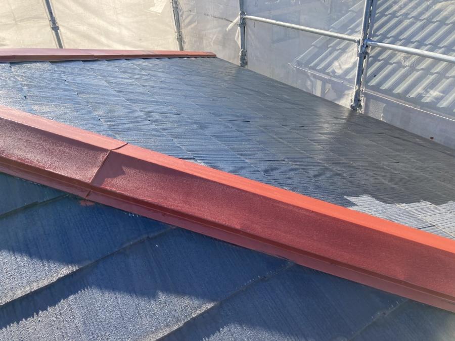 屋根塗装工事 下塗り