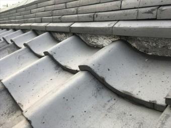 屋根瓦 屋根点検 漆喰 剥がれ