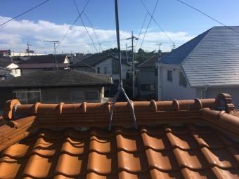 屋根 漆喰 瓦 剥離 劣化