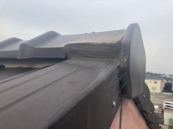 屋根点検 棟