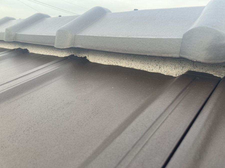 屋根点検 漆喰