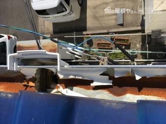 豊田市 雨樋の不具合