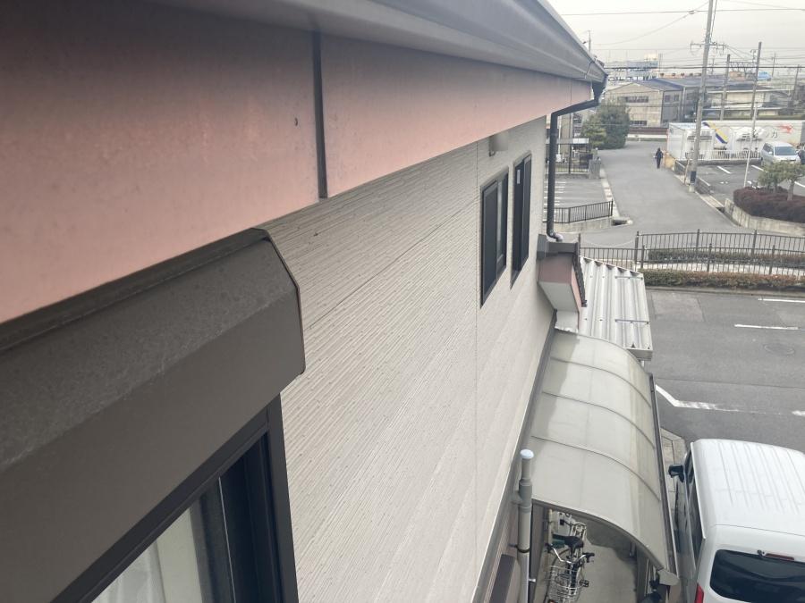 屋根点検 鼻隠し板
