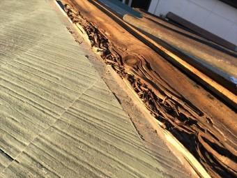 棟板金交換 腐食 人工木