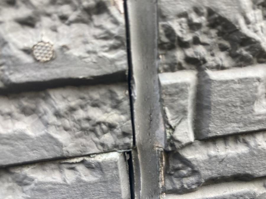 外壁点検 目地の切れ