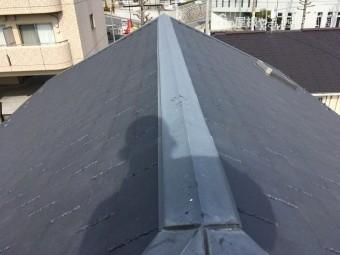 屋根 スレート 褪色
