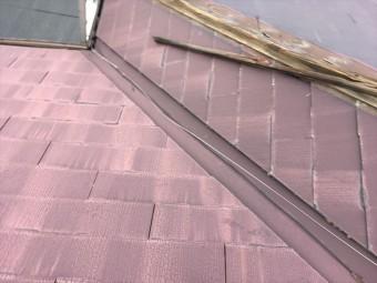 屋根工事 重ね葺き カバー工法 スーパーガルテクトフッ素