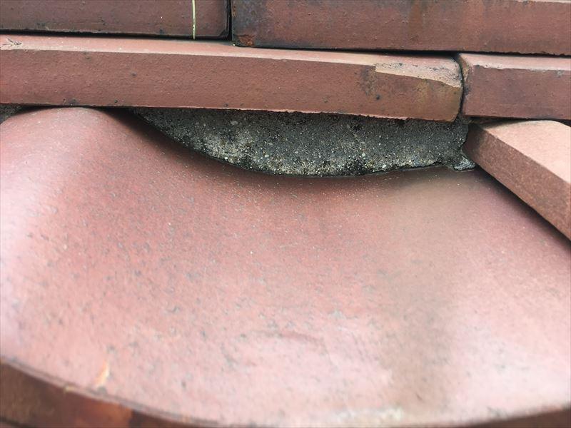 瓦 雨漏り 浮き ズレ 漆喰