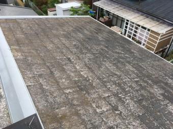 スレート 屋根 点検 色褪せ 褪色 塗装