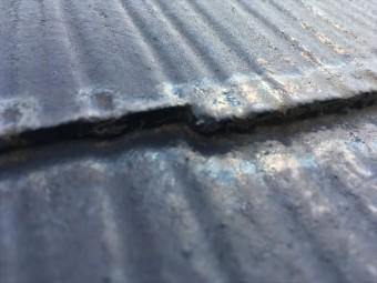 スレート屋根 縁切り