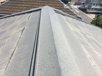 屋根 スレート 塗装見積り