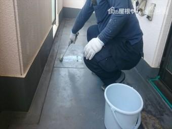 防水 トップコート 劣化 塗り替え