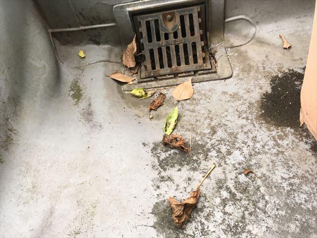 豊田市 ベランダ防水 雨漏り事例
