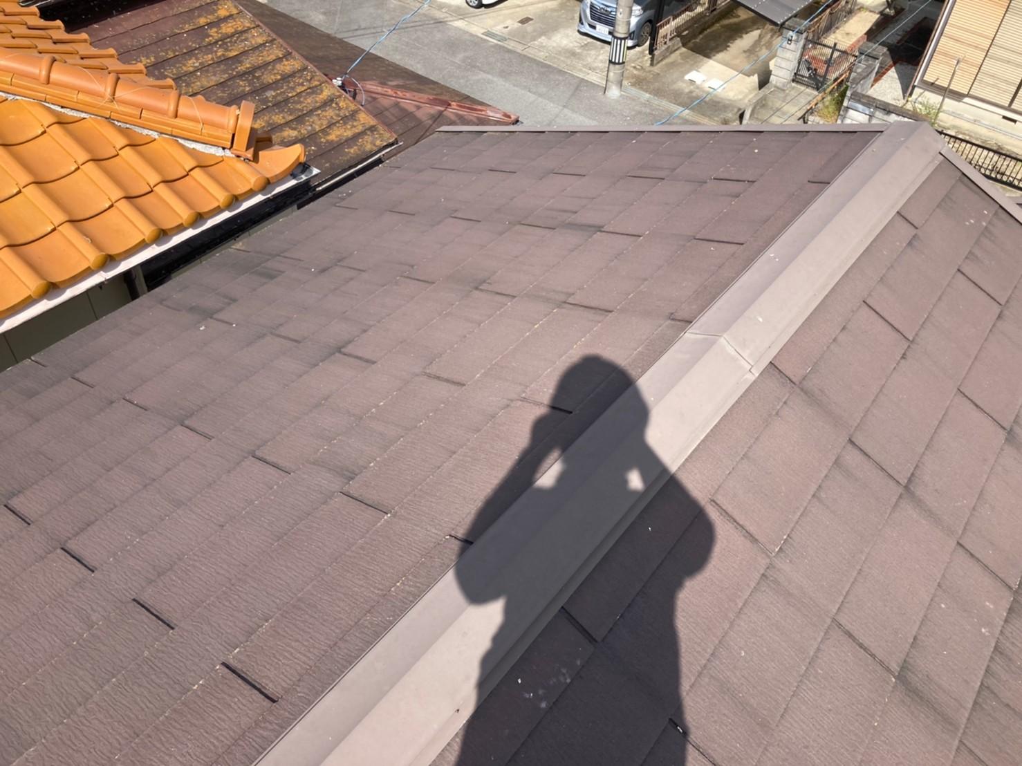 みよし市にてメンテナンス時期になった築10年の屋根無料点検