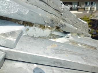 日本瓦漆喰劣化