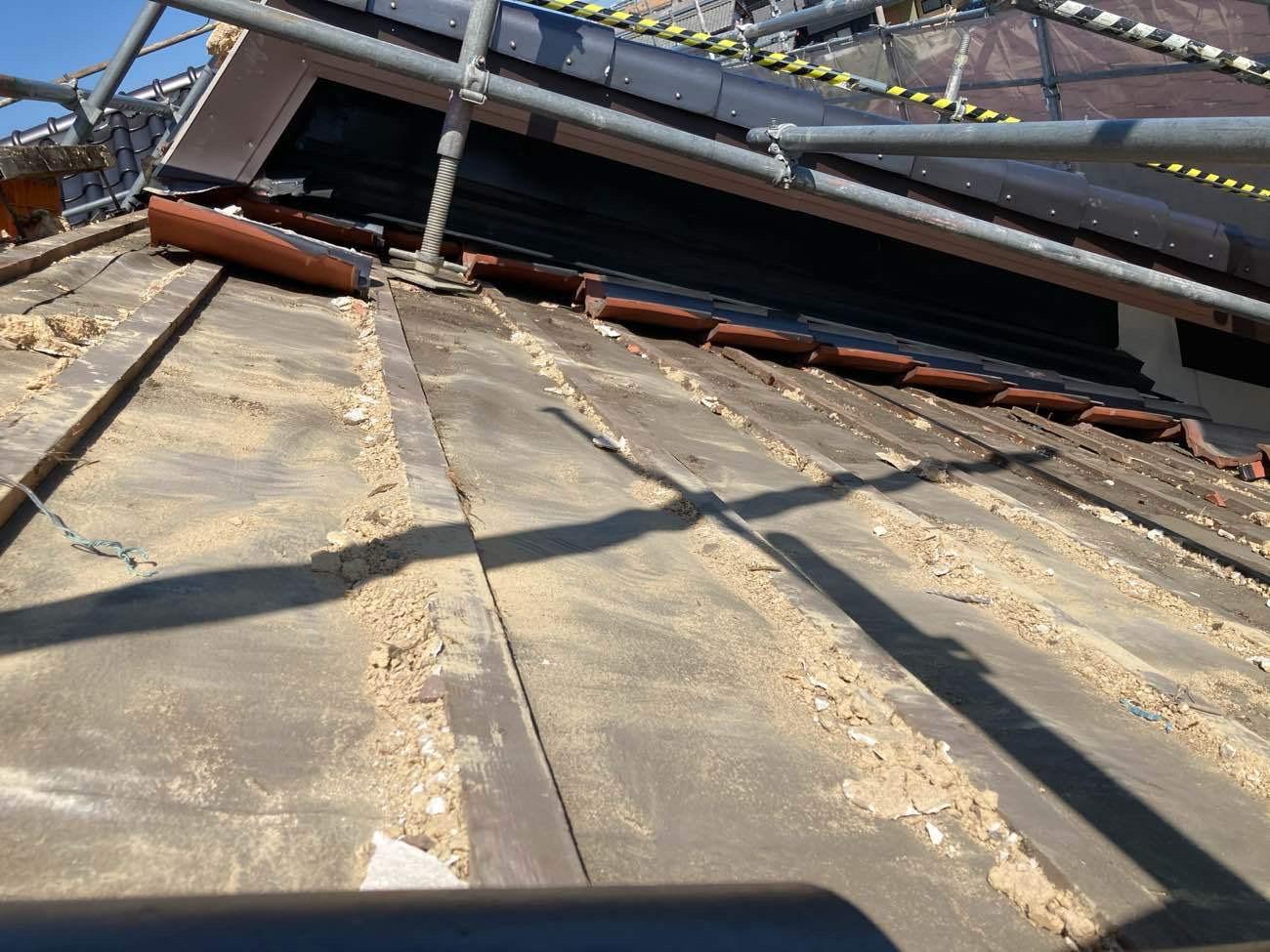 桟葺き工法2