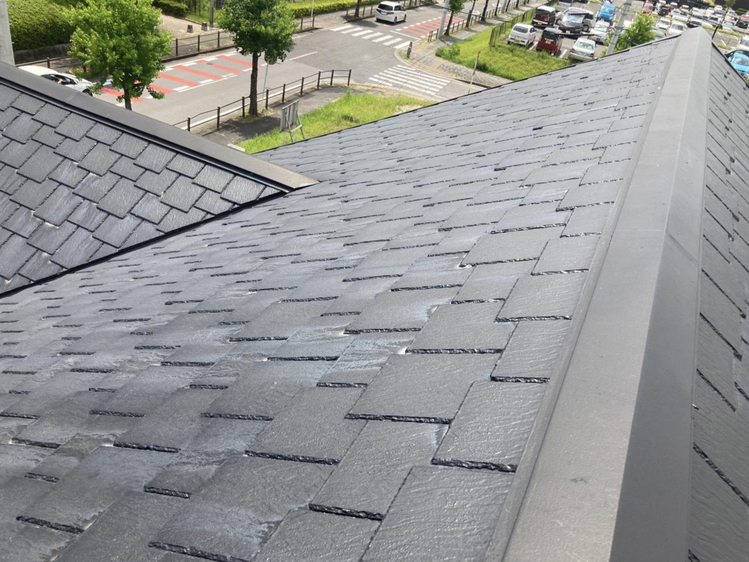 南面の屋根状況