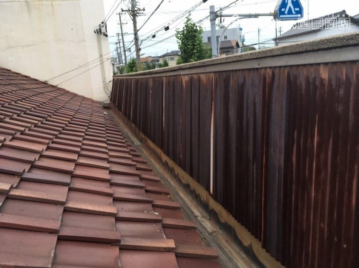 屋根パラペット
